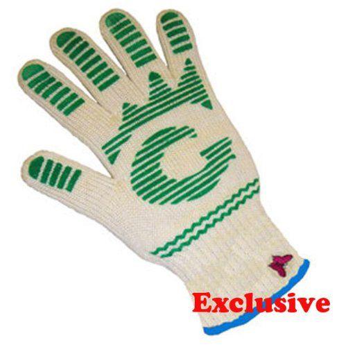 G /& F 1684L Dupont Nomex  /& Kevlar  Heat Resistant Gloves 1 Pair Oven Gloves Large BBQ Gloves