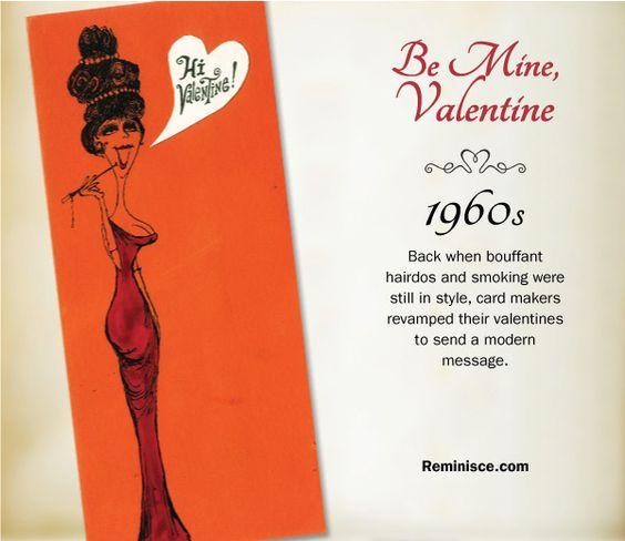 reminisce.com/Vintage-valentines | Vintage valentines through the decades: 1960s