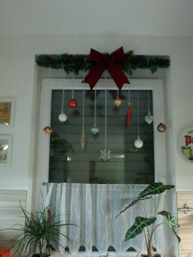 Weihnachtsdeko fürs Fenster