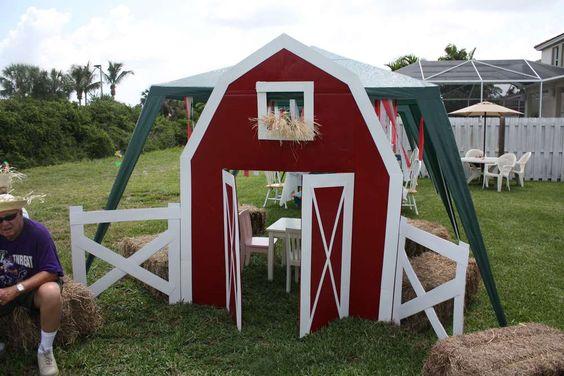 Farm/Barnyard Birthday Party Ideas | Photo 1 of 12 | Catch My Party