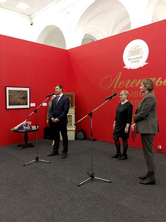 Выступление Анатолия Барсукова на открытии выставки