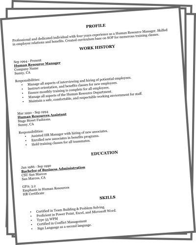 Printable Bartender Resume Format -    wwwjobresumewebsite - benefits assistant sample resume