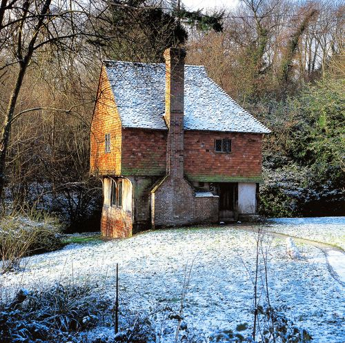 little stone cottage