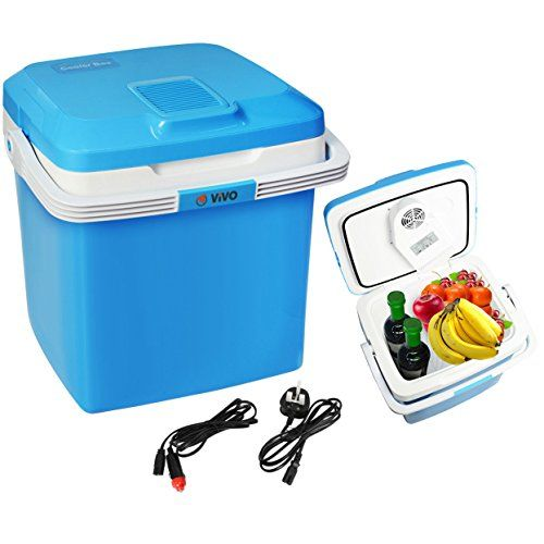 Vivo C 26l Electric Coolbox Cooler Hot Cold Portable Cool Box Car Home 240v Ac 12v Dc Cool Box Portable Cooler Box Car