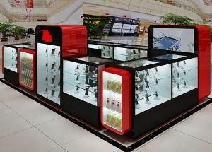 White Optical Store Design Store Design Interior Store Interiors Display Furniture