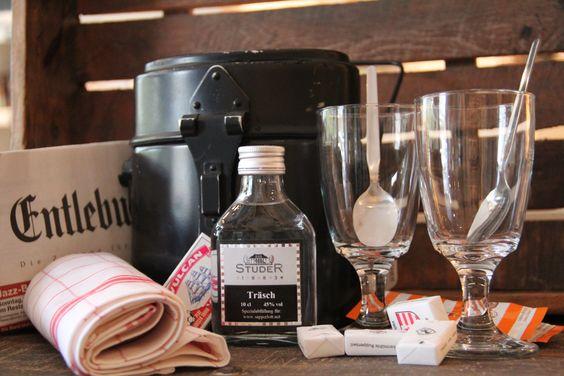 komplettes Set zum Kaffee kochen verpackt in Gemelle