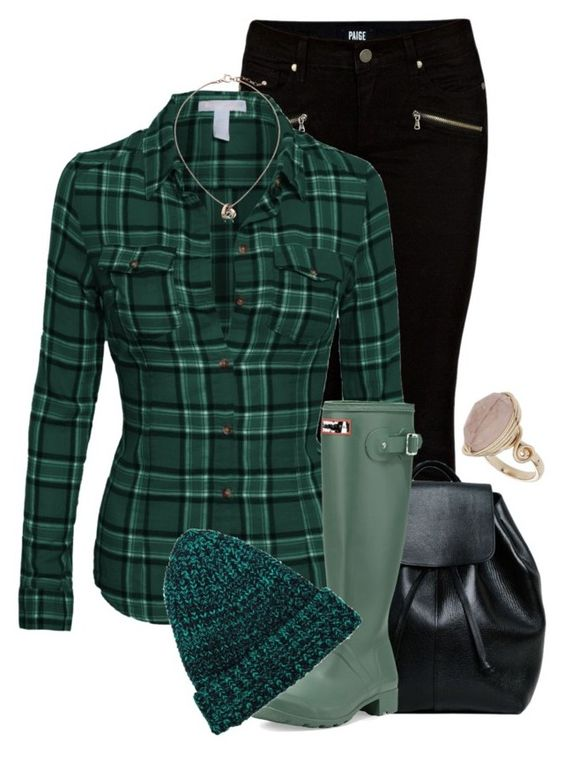 """""""kicking back, having fun"""" by borntoread ❤ liked on Polyvore featuring Paige Denim, Hunter, Topshop, Skagen, women's clothing, women's fashion, women, female, woman and misses"""
