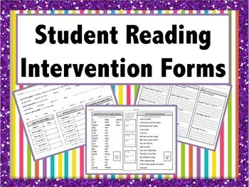 Progress Monitoring For Reading Intervention