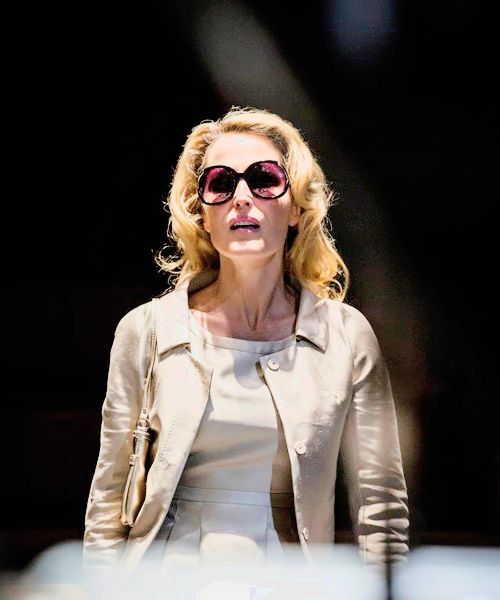 Gillian Anderson as blanche dubois