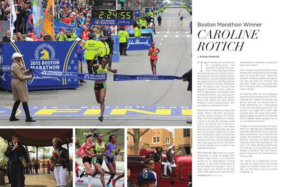 Boston Marathon Winner: Caroline Rotich