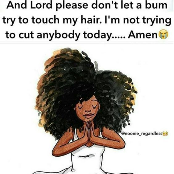 15 Funny Black Curly Hair Memes Natural Hair Quotes In 2020