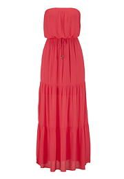 tiered gauze tube maxi dress - maurices.com