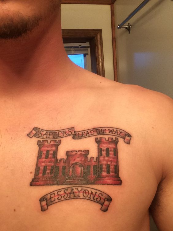 Us army engineer units us free engine image for user for Combat engineer tattoo