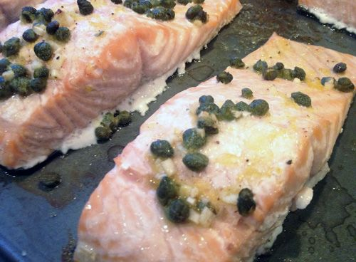 Salmon with Lemon and Capers... and some tips!