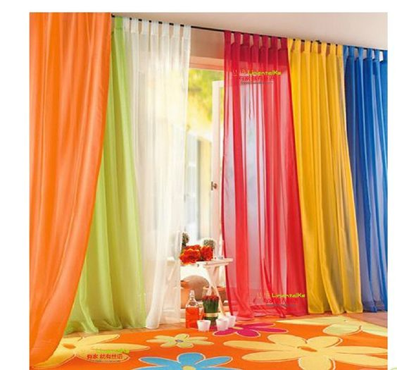 Free Shipping 140x245cm Ready Made Sheer Curtain Window Curtain Living Room Curtain Wedding Drapery 2 pcs lot CT 07 Wholesale-in Curtains from Home & Garden on Aliexpress.com $14.98