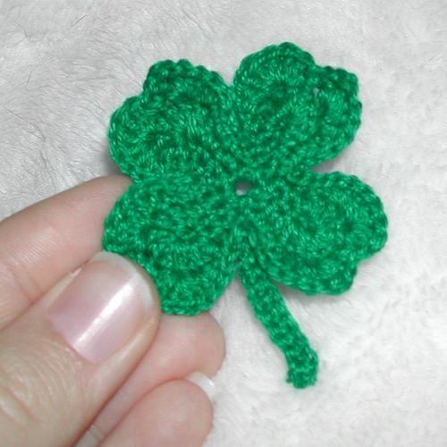 free shamrock crochet pattern
