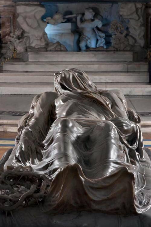 """theprovocationofwoodstock: """"""""""""Cristo Velato"""" di Giuseppe Sanmartino, marmo, 1753, Cappella di Sansevero, Napoli. """" """""""