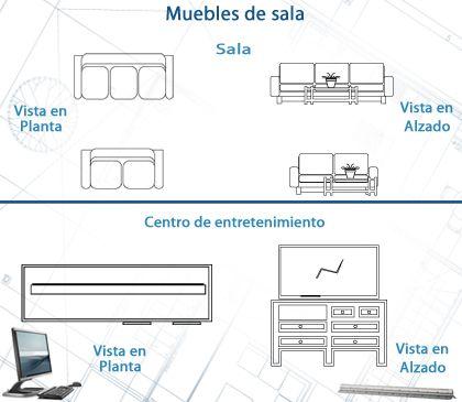 Dibujo Arquitectonico Asistido Por Computadora Unidad I Tema 1 Furniture Floor Plans