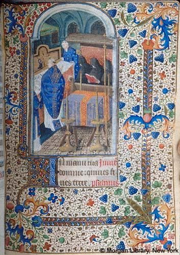 Book of Hours, MS M.1066 fol. 121r - Images from Medieval and Renaissance Manuscripts - The Morgan Library & Museum