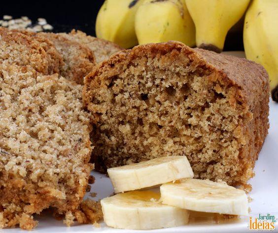 Uma sugestão de receita deliciosa: bolo de banana!