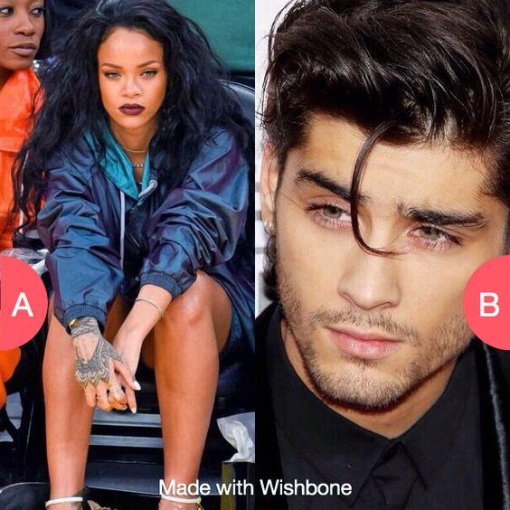 Rihanna or Zayn Click here to vote @ http://getwishboneapp.com/share/3165811