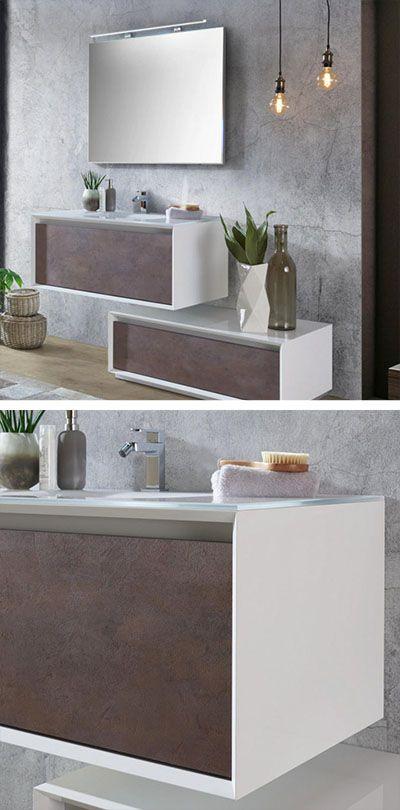 Badezimmermobel Modern In Weiss Braun Fur Dein Badezimmer