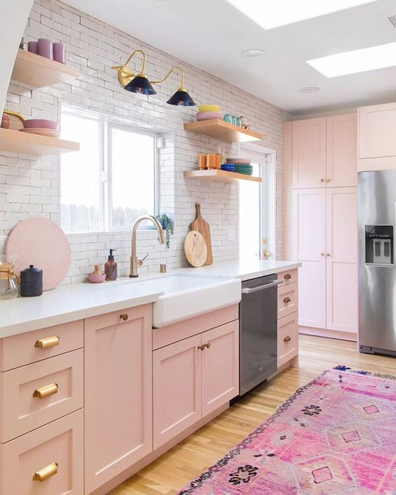 Pink Kitchen Ideas That Will Inspire You To Design 2020 In 2020