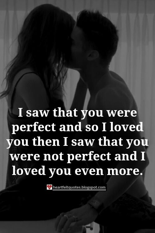 I Love You Quotes And Messages : love you hopeless romantic not perfect romantic love quotes i love you ...