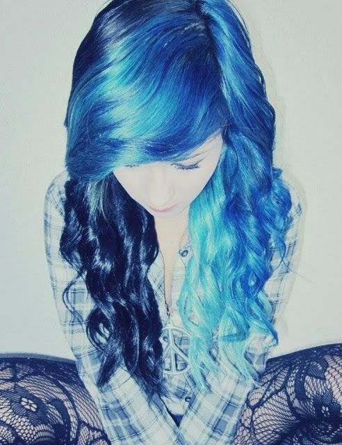 Colorfull bangs!