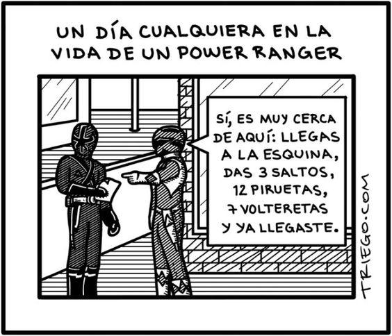 [Caricatura] Power Rangers