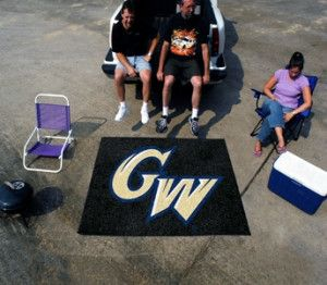 George Washington Colonials Area Rug - Tailgater
