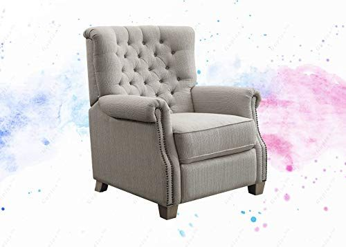 Guplus Tufted Push Back Recliner Easy To Use Pushback Reclining Mechanism Allows You To Adjust For The Perfect Reclining Angle Recliner Furniture Tufted