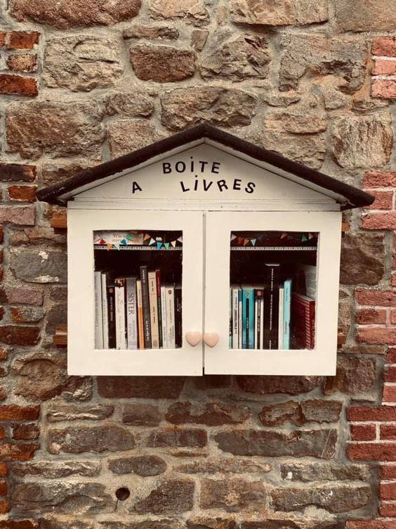 Boîte à livres Manhay