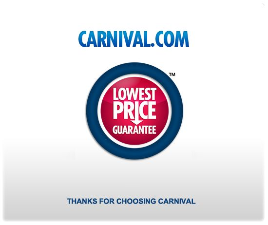 I LOVE that they give you an onboard credit if the cruise you already paid for gets cheaper!! Best DEALS EVER!!