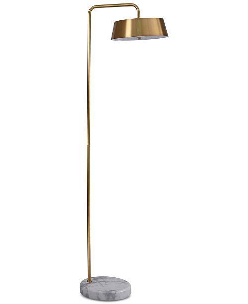 Stylecraft Cordea Brass Floor Lamp Reviews All Lighting