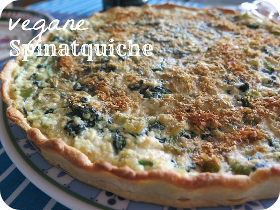 From Veggie to Vegan: {Rezept} Vegane Spinatquiche