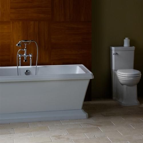 Porcher 60645 Lutezia Freestanding Soaking Bath White Master Bath