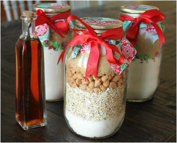 Top 10 diy edible christmas gifts in a jar cinnamon for Edible christmas gifts to make in advance
