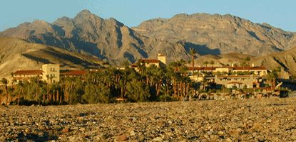 Death Valley National Park, CA - Furnace Creek Inn - where the 105-mile JDRF Ride for the Cure begins and ends
