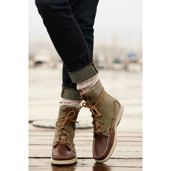Sperry Top-Sider Women's Hiker Fish Boot....I want these BAD ...