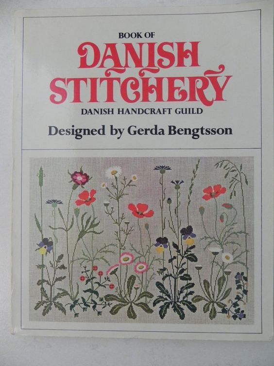 Book of Danish Stitchery Designed by Gerda by baublesandblingforu, $7.00