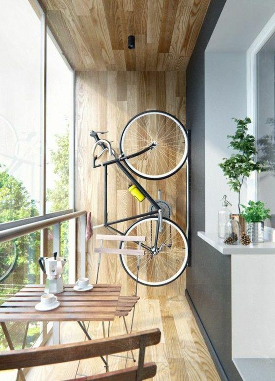 Interessante ideen für fahrradhalter wand