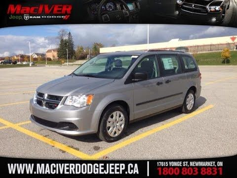 2015 Silver Dodge Grand Caravan Canada Price Package Newmarket