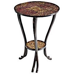 Pier 1 Imports  Catalog  Furniture  Living  Pier1ToGo Product Details - Red  Gold Sparkle Accent Table