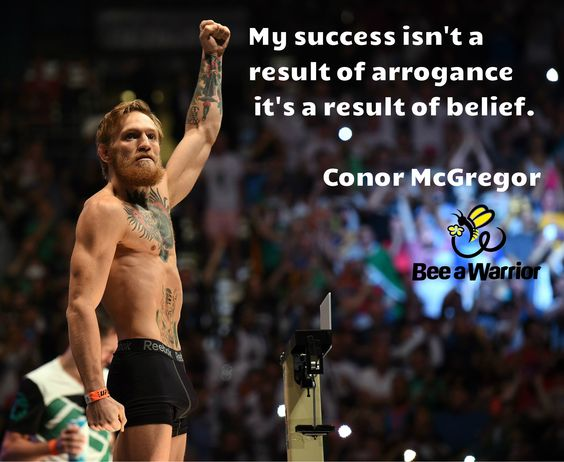 """Belief IWin """"The empires of the future are empires of the mind."""" Winston Churchill Conor McGregor, the Irish Mixed Martial Arts (MMA) fighter, truly takes the sport by storm with his Belief in hi..."""