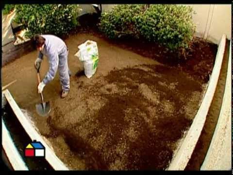 ¿Cómo instalar palmetas de pasto? - YouTube