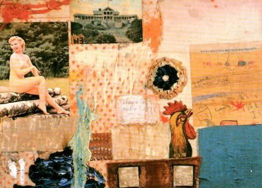 Robert Rauschenberg, Sense títol, 1955. POP ART.