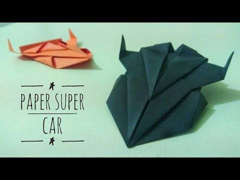 Origami Easy Paper Car How To Make A Paper Car Cool Papercraft