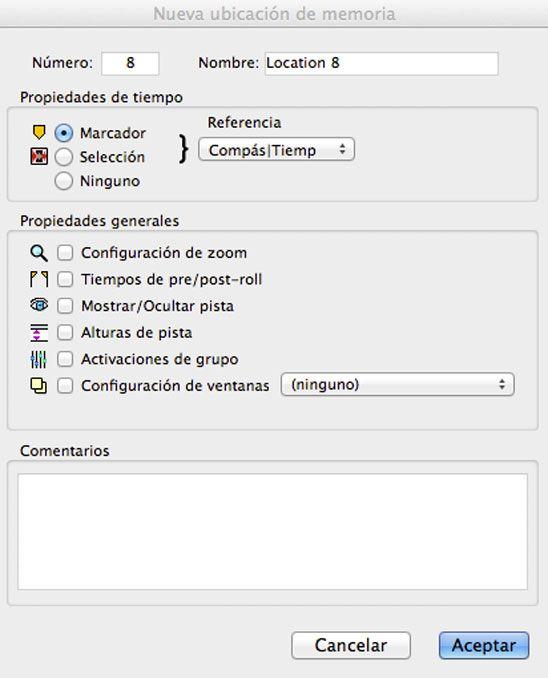 marcador, 5 herramientas de pro tools para produccion musical, http://promocionmusical.es/produccion/: