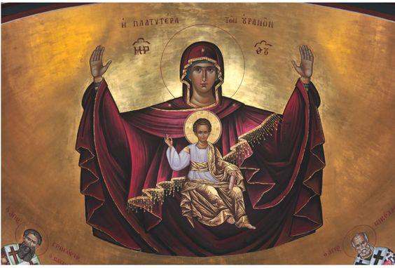 Icon of Panagia:
